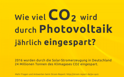 co2 einsparung photovoltaik