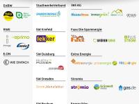 Stromanbieter und ihre Marken, Strommarken